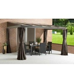 Four Seasons Wall Sun Shelter 3m x 3.65m