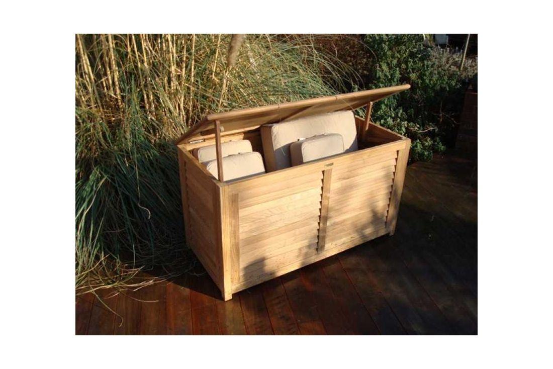 FSC Certified 1.2m Teak Cushion Box