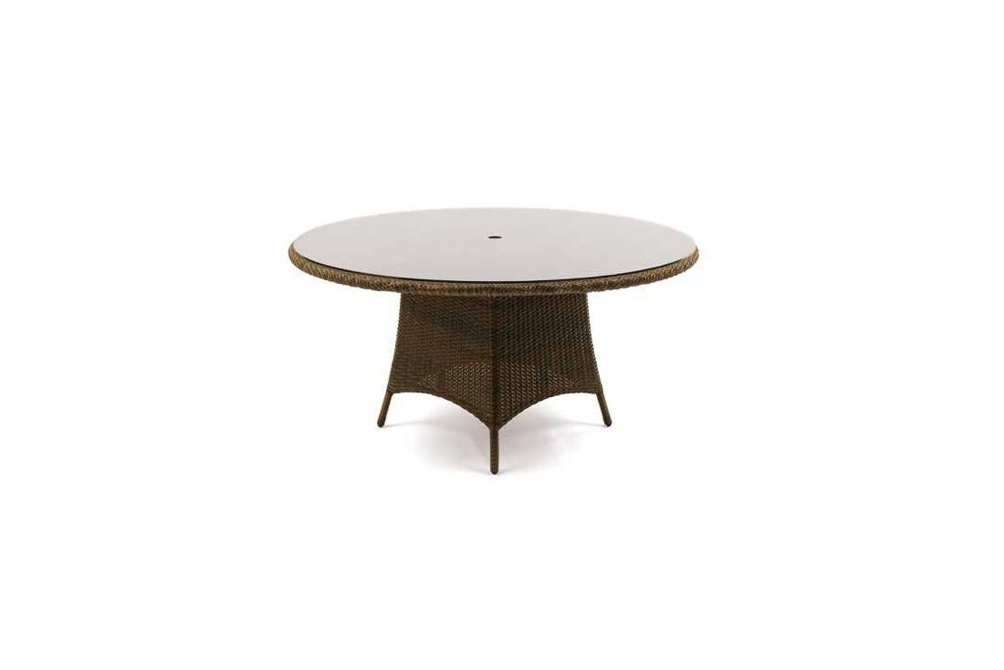 Feri 150cm dia wicker table