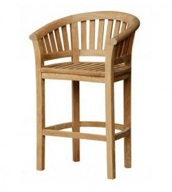 Half moon bar chair