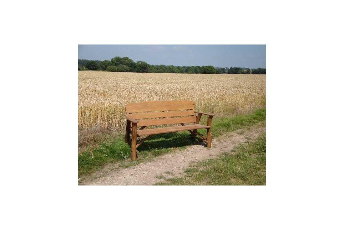 Oak garden bench 170cm