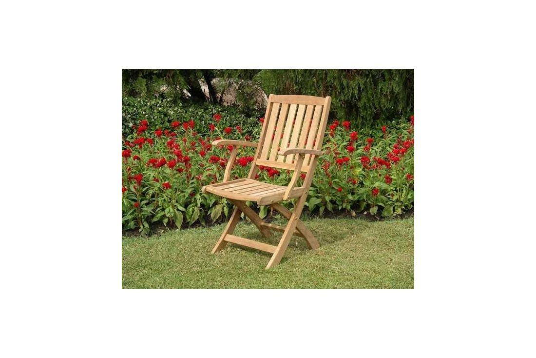 Henley folding armchair