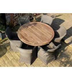 Mexico 6 Chair Dining Set