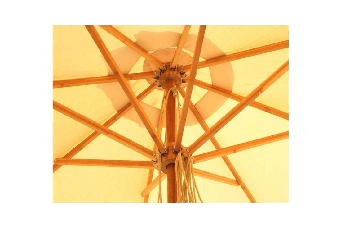 Bambrella 4m dia Parasol