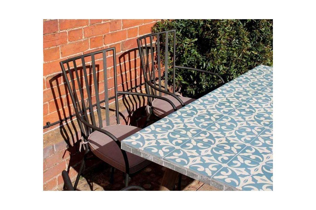 Fleur-De-Lis Rectangle 6 Chair Dining Set