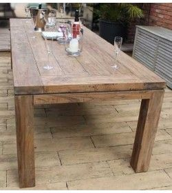 York 2.4m Reclaimed Teak Table