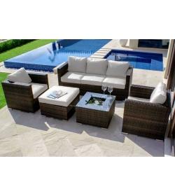 Georgia 5 Piece Sofa Set