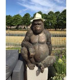 Gorilla Garden Ornament