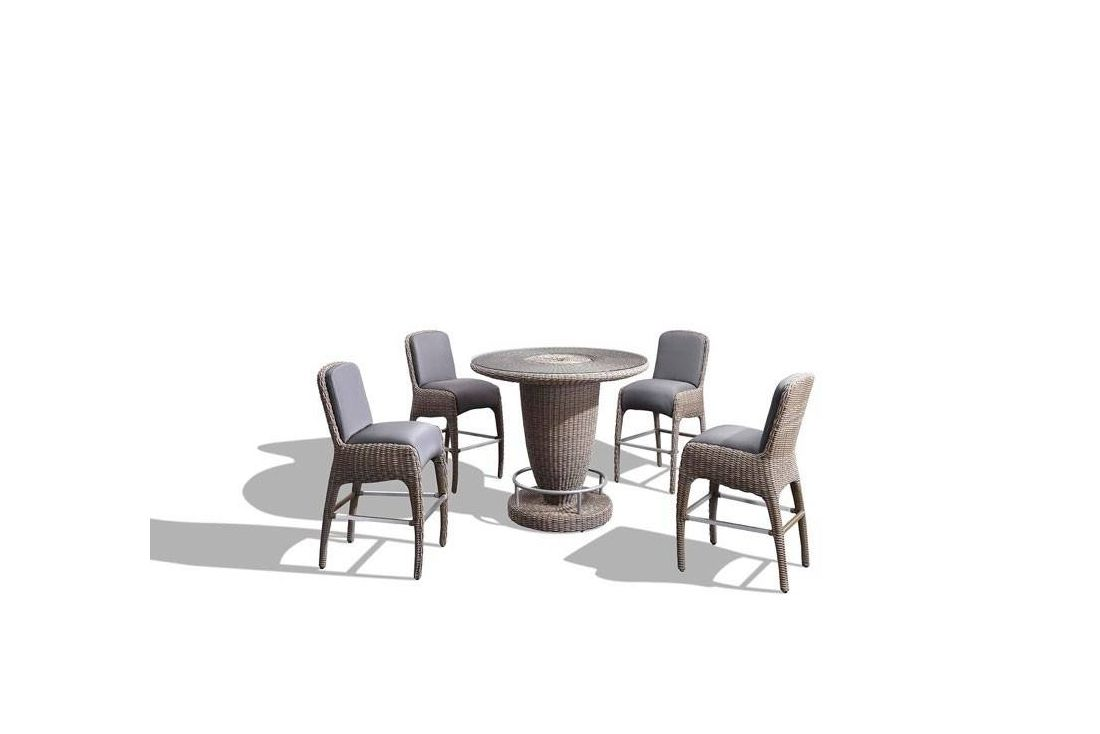 Luxor Round Bar Set Meteor