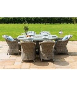 Oxford Heritage 6 Seat Ice Bucket Oval Dining