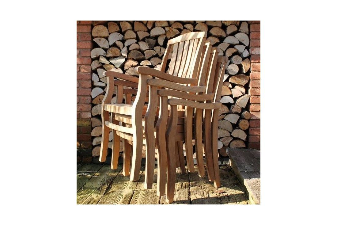 Chunky Table 3m 12 Westminster Stacking Chairs