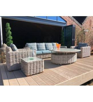 Best Quality outdoor garden furniture Fiji Rattan