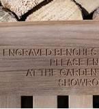 Bench Engraving