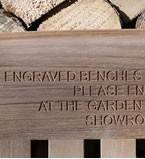Bench Engraving